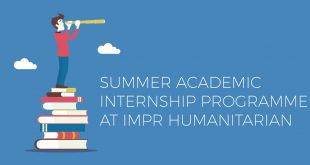 IMPR Humanitarian Academic Internship