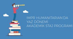 IMPR Humanitarian Academic Internship TR